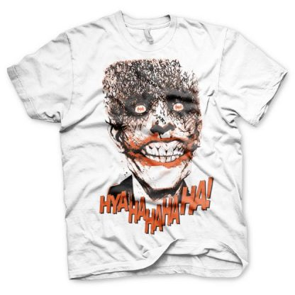 Batman The Joker - HyaHaHaHa T-Shirt Vit