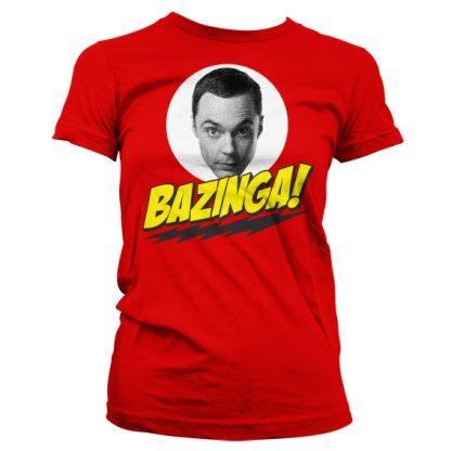 Big Bang Theory Sheldon Bazinga Dam T-Shirt