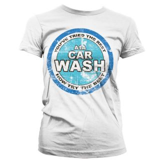 Breaking Bad A1A Car Wash Girly T-Shirt Vit