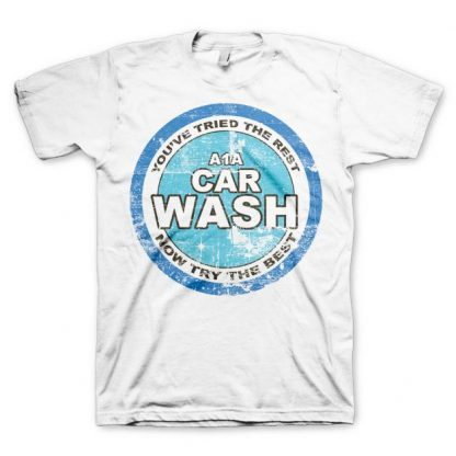 Breaking Bad A1A Car Wash T-Shirt Vit