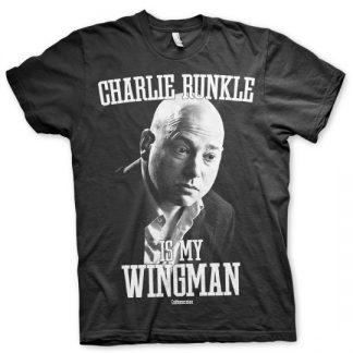 Charlie Runkle Is My Wingman T-Shirt (Svart)