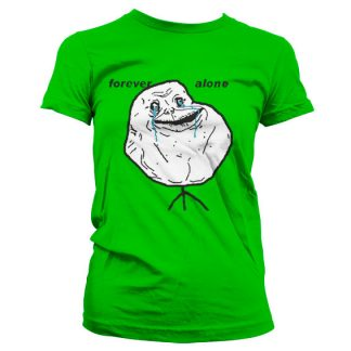 Forever Alone Dam T-Shirt