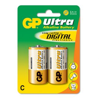 GP Ultra Batterier - 2-pack LR14