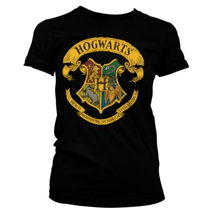 Harry Potter Hogwarts Crest Dam T-shirt