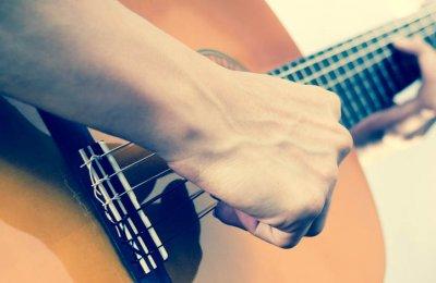 Privat Gitarrlektion