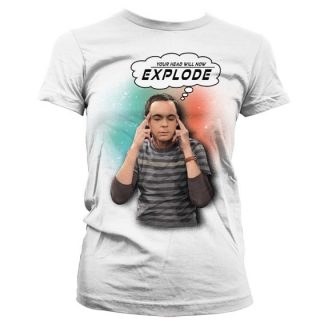 Sheldon - Your Head Will Now Explode Dam T-shirt