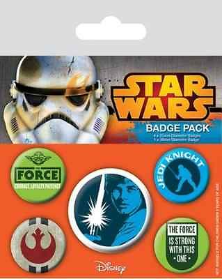 Star Wars Knappar Jedi 5-pack