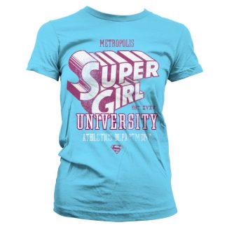 Supergirl Athletics Dept. Girly T-Shirt