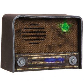Trasig Retro Radio med Ljus och Ljud