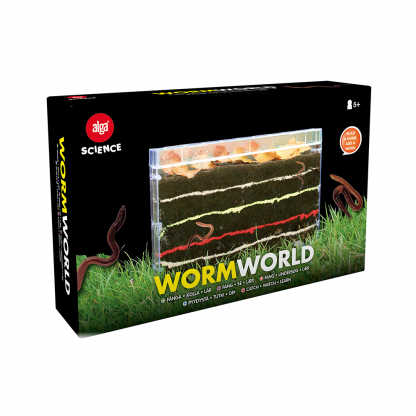 Alga Science - Worm world