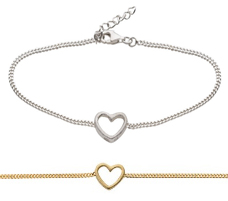 Armband Heart - Nordahl Jewellery (Silver)