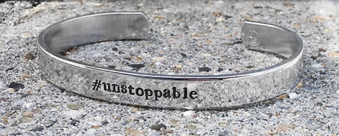 "Armband ""#unstoppable"" - Littlebit Design"