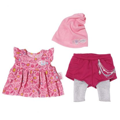 Baby BornFashion Collection med Rosa Mössa
