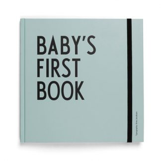 Design LettersBaby's first book Turkos