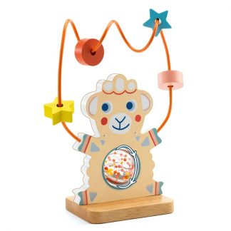 DjecoBaby White Activity bead runner
