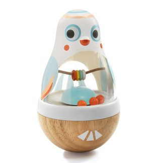 DjecoBaby White Poli activity toy