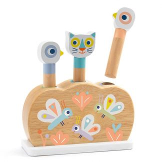 DjecoBaby White Popi activity toy