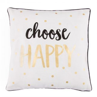 "Kudde ""Choose Happy"""