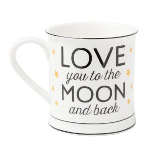 "Mugg ""Love you to the moon and back"""