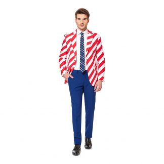 OppoSuits United Stripes Kostym - 46