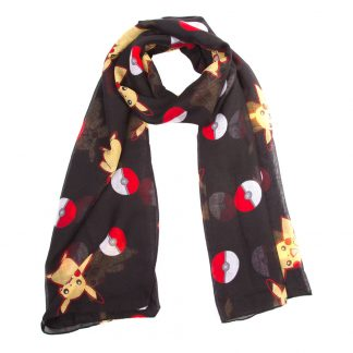 Pokemon Pikachu och Pokeball Scarf - One size