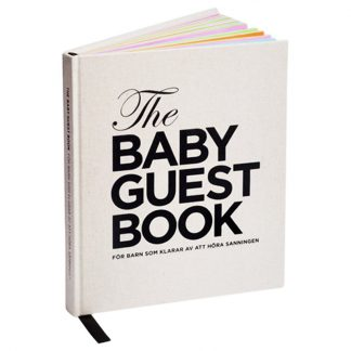 The Tiny UniverseThe Baby Guest Book Swedish