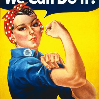 We Can Do It Poster 61 x 91,5 cm