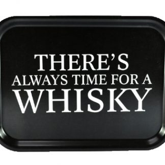"Bricka ""Time for a whisky"" (27x20cm)"