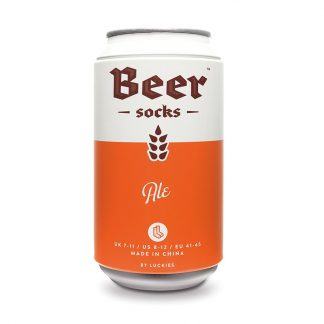 Beer Socks - Ölburk med sockar (Ale (Orange))