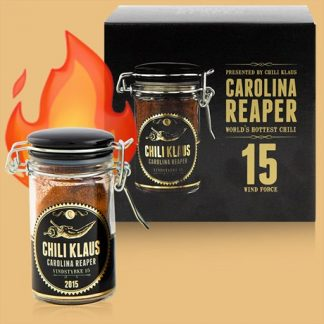 Chili Klaus - Chilipulver, Carolina Reaper (Limited edition), Svart