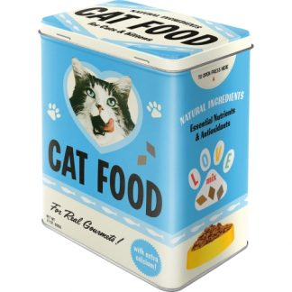 Plåtburk Retro Cat Food
