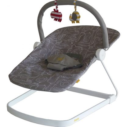 BababingBabysitter, Baby Bouncer Float, Grå