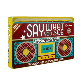 Say What You See: Music Edition Spel