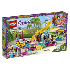 Lego Friends - Andreas poolparty 41374