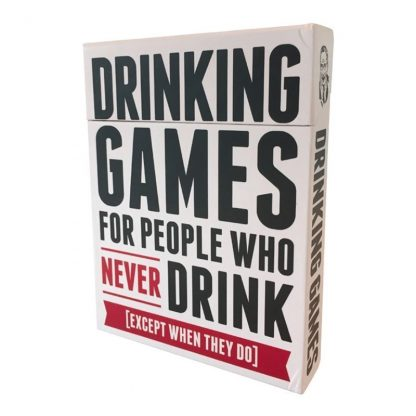 Drinking Games for People Who Never Drink Sällskapsspel