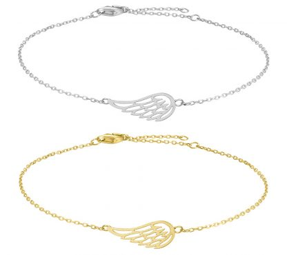 Armband Fly Angel wing - Nordahl Jewellery (Guld)