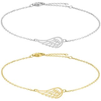 Armband Fly Angel wing - Nordahl Jewellery (Silver)