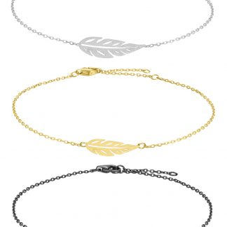 Armband Leaf - Nordahl Jewellery (Silver)
