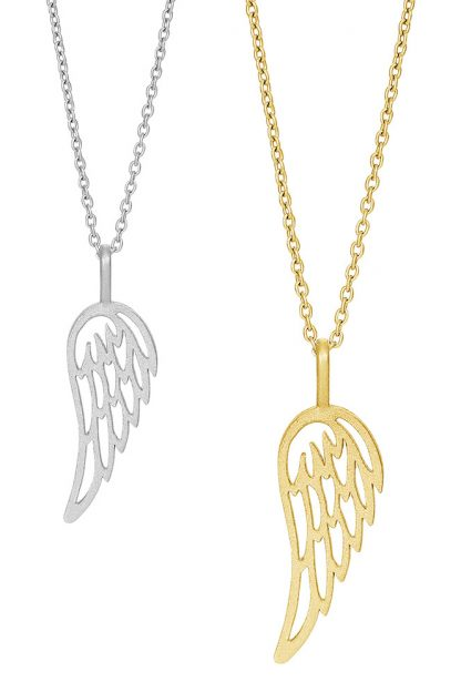 Halsband Fly Angel wing - Nordahl Jewellery (Guld)