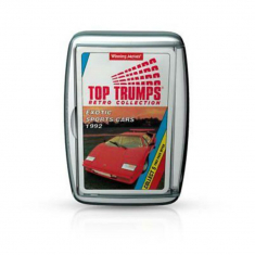 Top Trumps Limited Edition - Exotic Sports Cars Retro