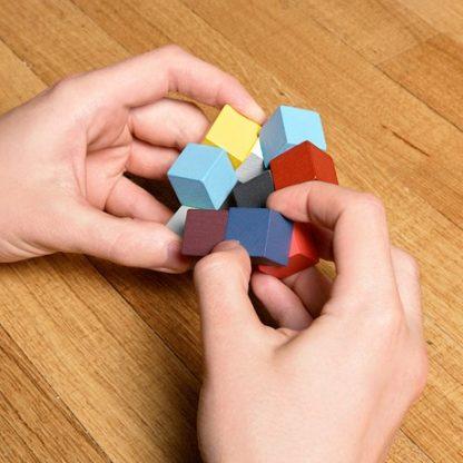 Elasti Cube - 3D Pussel, Multi