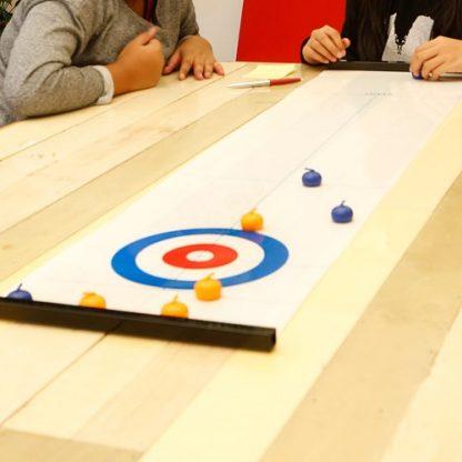 Bordscurling - Curling i miniformat!, Multi