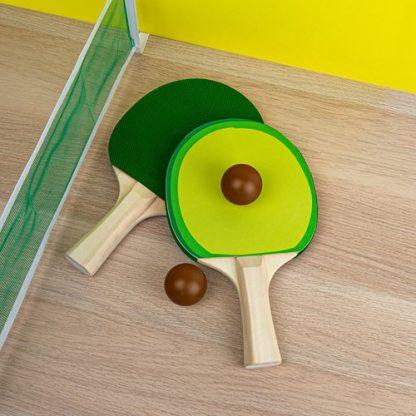 Bordstennis-set - Avokado, Grön