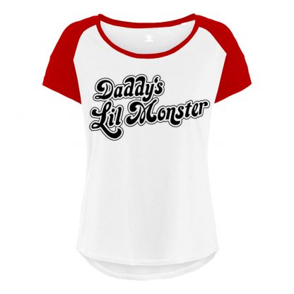 Daddys Lil Monster Suicide Squad Dam T-shirt - X-Small