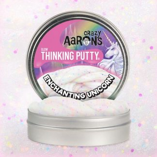 Thinking Putty, Enchanting Unicorn - Självlysande lera, Multi