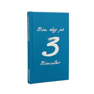 "Bok ""Min dag på 3 minuter"""
