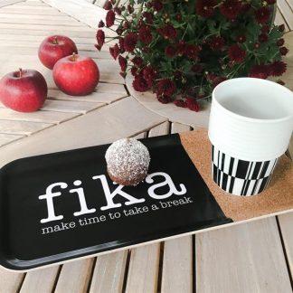 """Bricka """"Fika - Make time"""""""