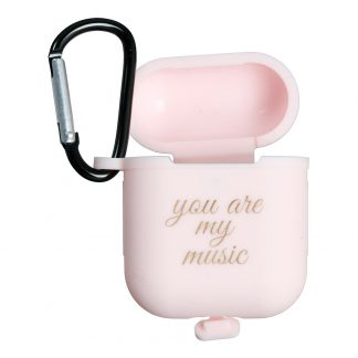 AirPods Fodral You Are My Music - Rosa