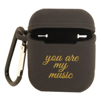 AirPods Fodral You Are My Music - Svart