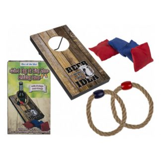 Drinkspel Bean Bag & Ring Toss